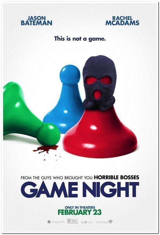 Details About Game Night 2018 Original D S 27x40 Advance Movie