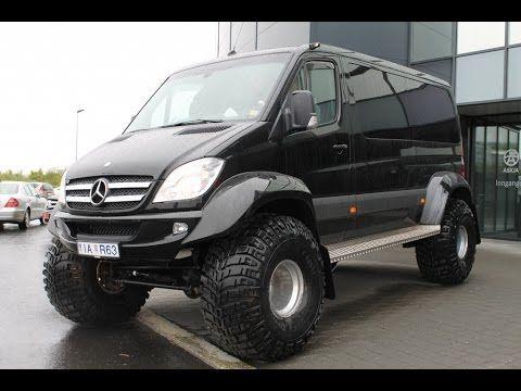 Mercedes benz sprinter 4x4 iglhaut youtube al nacak for Mercedes benz 4x4 truck