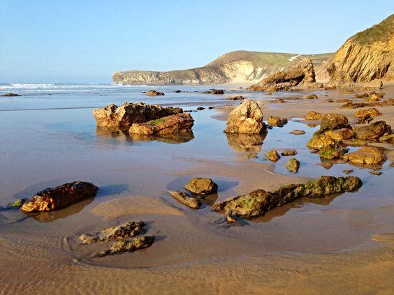 Playa Meron,  San Vicente  de  la  Barquera, Cantabria