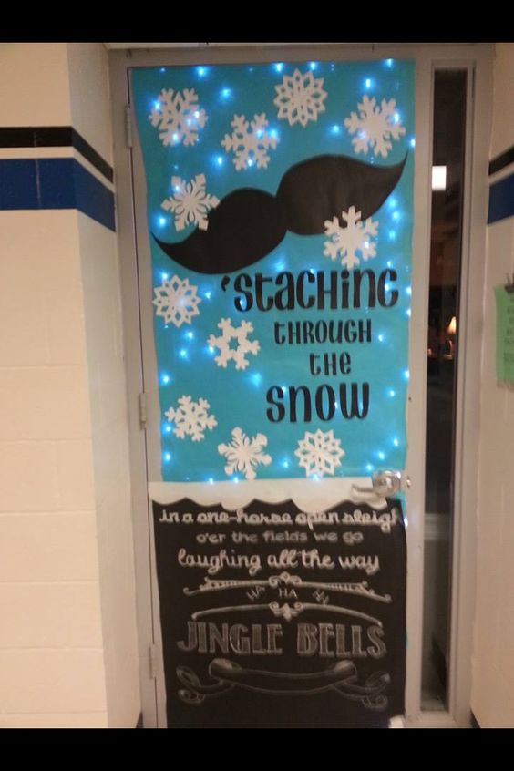 Snow Classroom And Window On Pinterest
