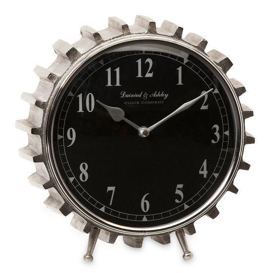 Aluminum Cog Table Clock Laylagrayce Table Clock Clock