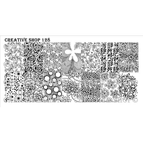 COMING SOON Creative Shop- Stamping Plate- 128