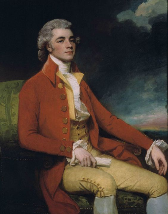 George Romney (1734-1802) — Portrait of George Bustard Greaves: