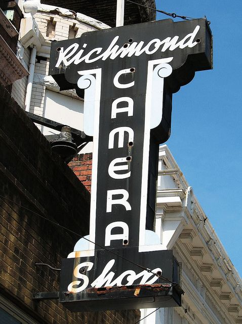 Richmond Camera Shop, 121 E. Grace St., Richmond VA | Richmond ...
