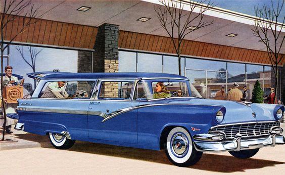 1955 chrysler station wagon | Classic American Wagons 1947-1962