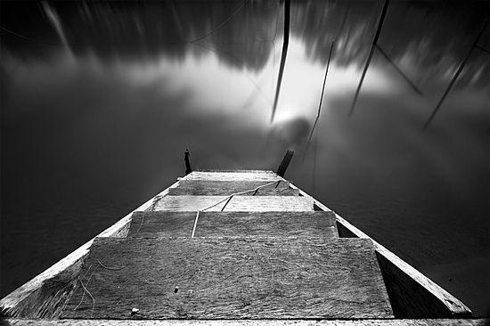 Adrift: Black & White Photo Series by Øystein Aspelund | Inspiration Grid | Design Inspiration