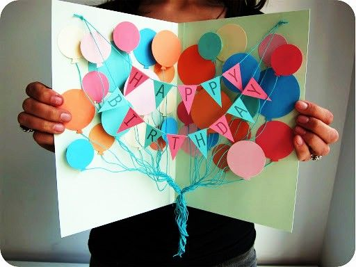 httpcreativewifeyblogspot Make your own huge Birthday Card – Make a Birthday Card with Your Own Photo