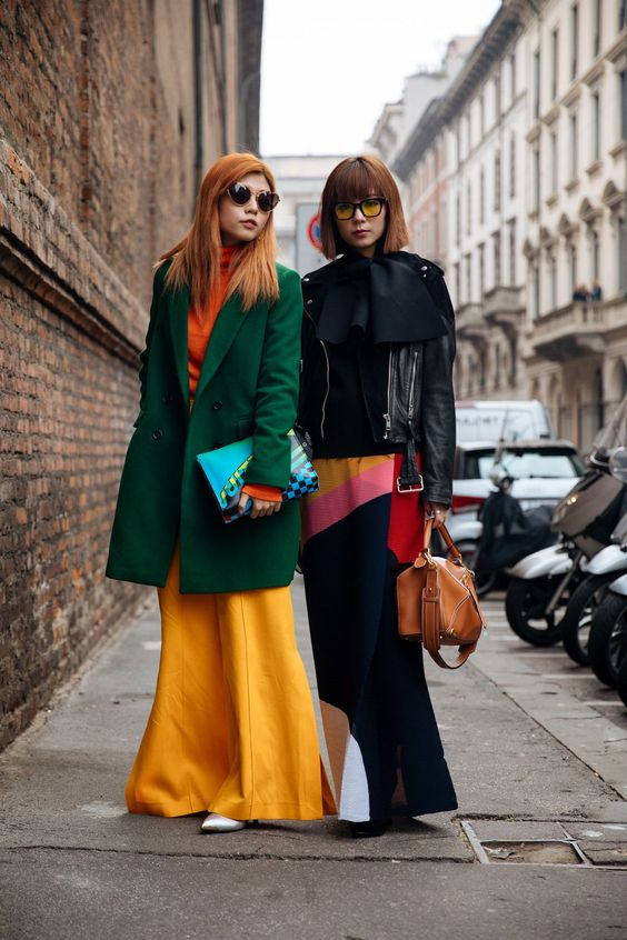 Gucci, Prada, and more Italian brands dominate the street style scene at Milan Fashion Week.