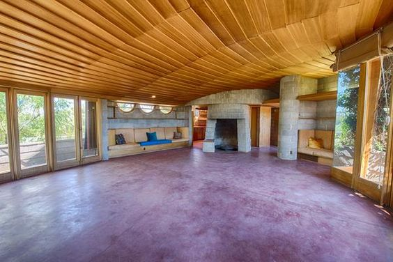 historic frank lloyd wright home in phoenix up for sale. Black Bedroom Furniture Sets. Home Design Ideas