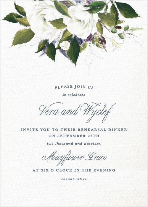 Rehearsal Dinner Invitation Wording Examples Ideas Emmaline Bride In 2020 Wedding Shower Invitations Bridal Shower Invitations Wedding Invitations