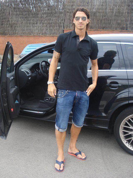 Zlatan Ibrahimovic Bare Men Womens Shorts Celebrities Male