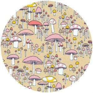 Sarah Watson for Cloud 9, Arcadia, Mushroom March Coral
