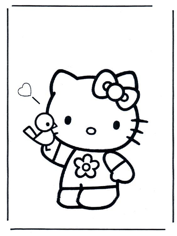 Hello Kitty | Printables | Pinterest | Colorante, Gatito y ...