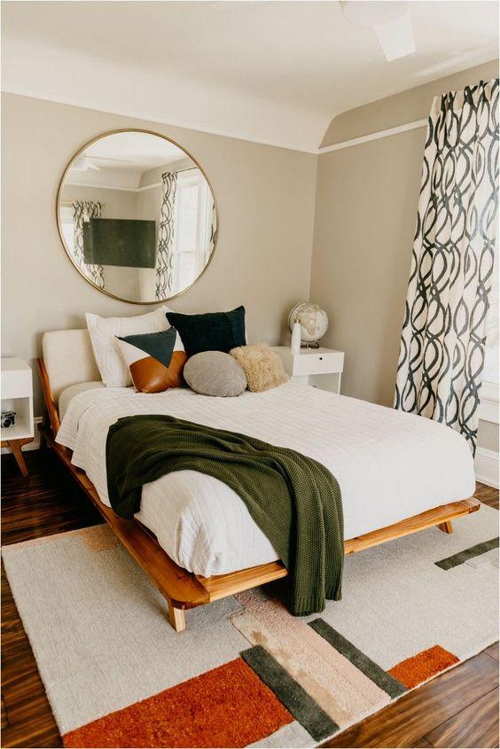 West Elm Master Bedroom Spring Refresh | #home #style