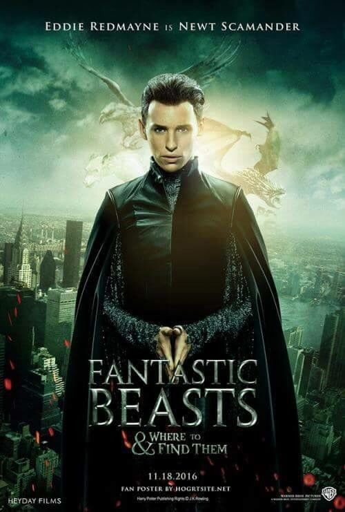 Eddie Redmayne in Fantastic Beasts and where to Find Them ...