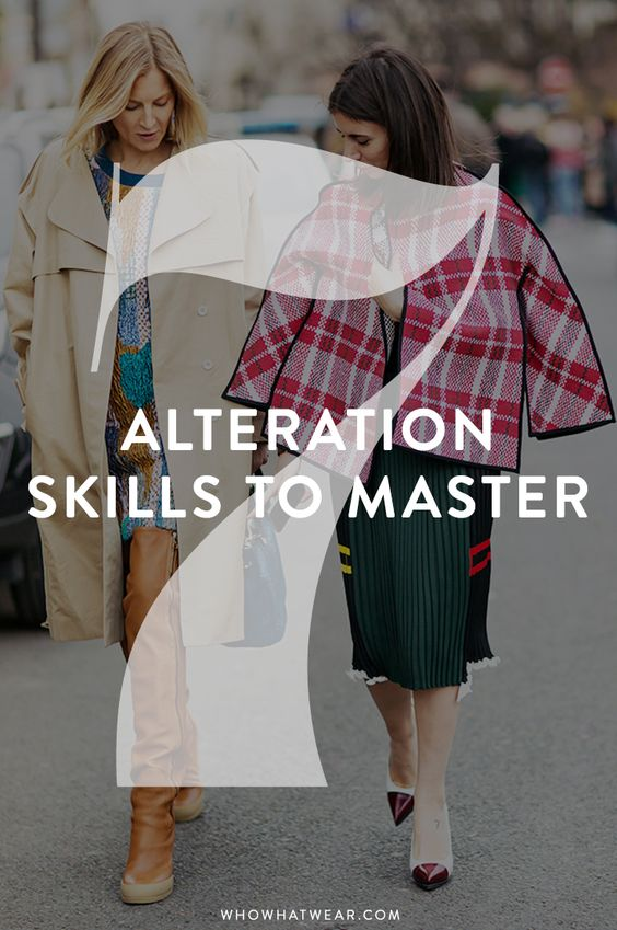 7 alteration skills to master through YouTube Tutorials // DIY