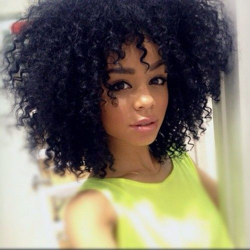 Cool Curly Afro Afro And Black Curly Hairstyles On Pinterest Short Hairstyles For Black Women Fulllsitofus