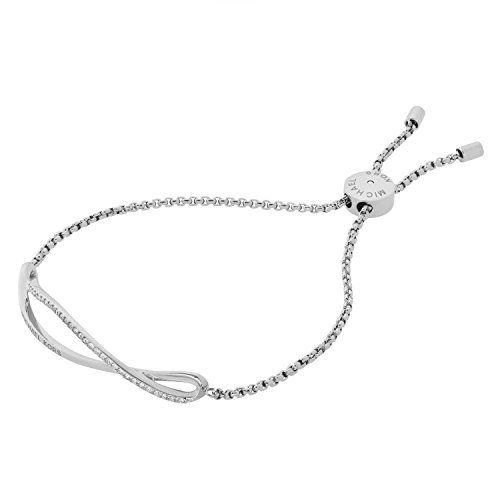 Michael Kors Women's Silver Bracelet MKJ6618040 7lHO3Ws7Z