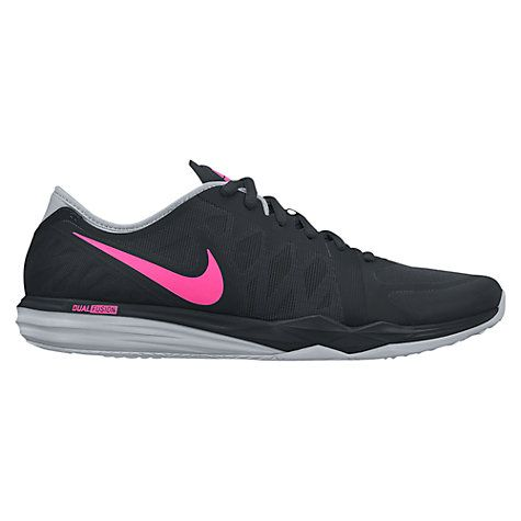 Buy Nike Dual Fusion TR3 Women's Cross Trainers, Black/Pink Online at johnlewis.com
