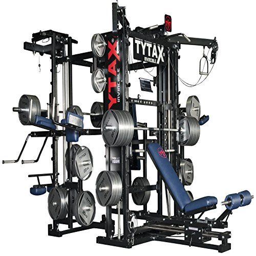 Tytax T3 X Home Gym Best Equipment Machine Set Total Free Weight