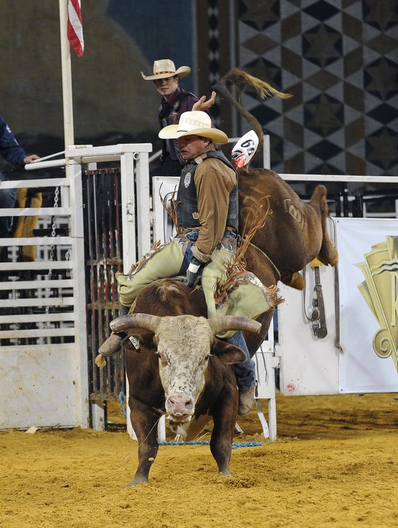 OF AMERICA: Hold your breath as 30 daring riders take on bucking ...
