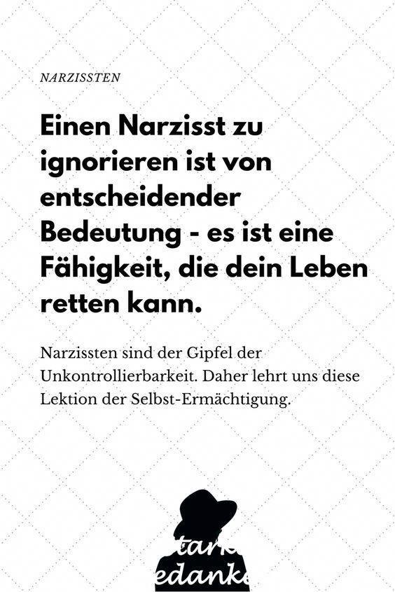 Sprüche narzissmus Verdeckter Narzissmus