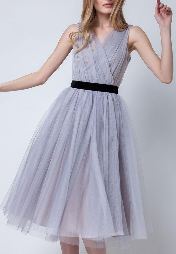 Olga Skazkina dress. Ethereal, ingenue.