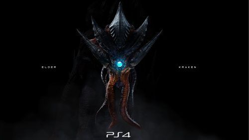 Badass Wallpaper For Ps 4 Background With Elder Kraken Evolve