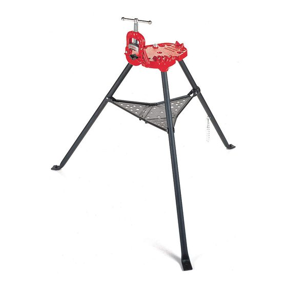 ridgid portable yoke vise 1  8 to 2-1  2 in  - pipe stands and vises - 1vuv5