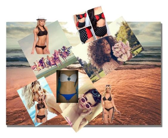"""""""Summer pt 1"""" by chavisas1 ❤ liked on Polyvore"""