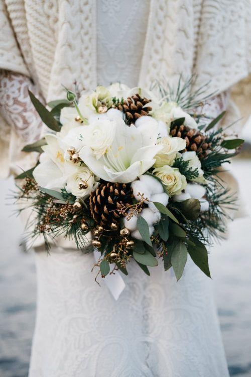 Brautstrauß für eure Hochzeit im Winter