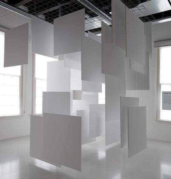 """Herman de Vries: """"Ruimtelijke toevals-structuur"""", 1965 (Rekonstruktion 2011–2014)"""