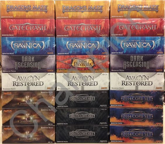 Magic Booster Box Repack Mixed Legacy Repacks from Revised to Origins FREE S/H