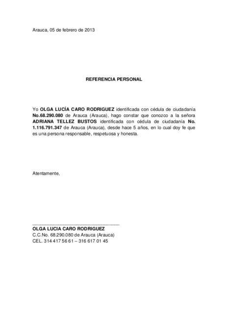 Carta De Recomendacion Personal Como Hacerla Con Ejemplos Cartas De Recomendacion Formato De Carta Carta De Referencia