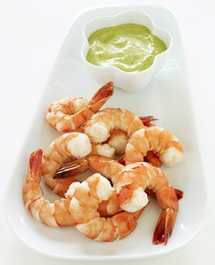 Perfectly Poached Shrimp with Green Goddess Sauce: Recipe: bonappetit ...