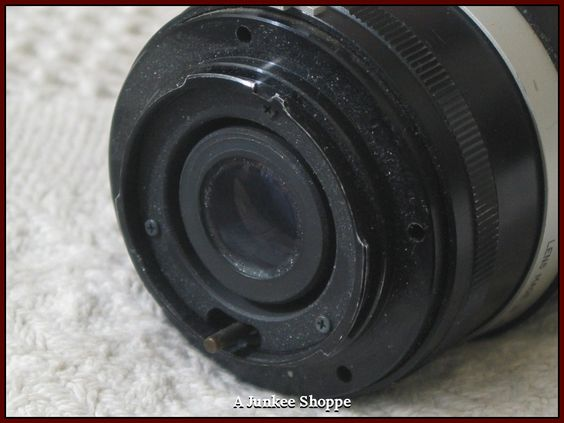 FOCAL F135mm K Type Connection 1:2.8 Camera Lens Used Picture Photography  IMG 639  http://ajunkeeshoppe.blogspot.com/