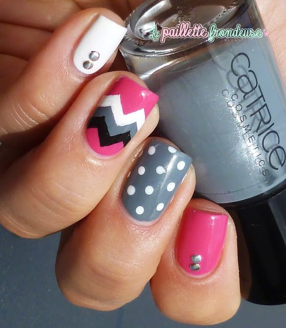 Catrice London weather forecast // Chevrons girly