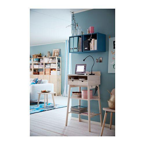 VALJE Wall cabinet - blue-turquoise - IKEA