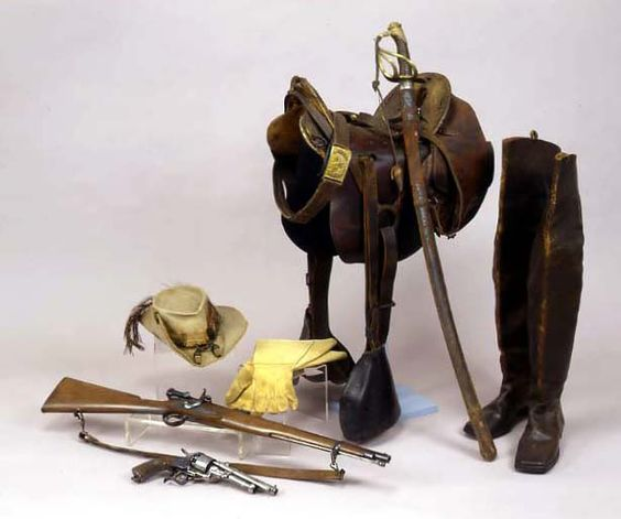 "General J.E.B. Stuart's personal effects- Stuart's Cavalry was the ""eyes"" of Lee's Army..."