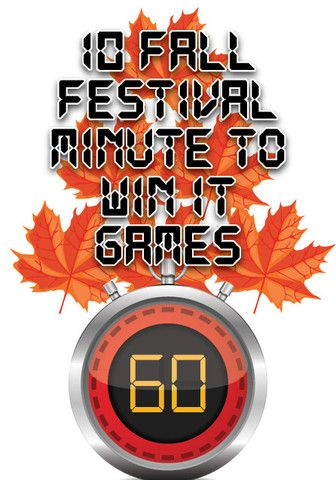10 FREE Fall Festival Themed Minute to Win It Games for Kids Youth