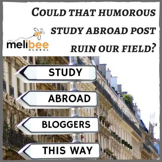 Are study abroad blogs ruining the field of international - study abroad resume