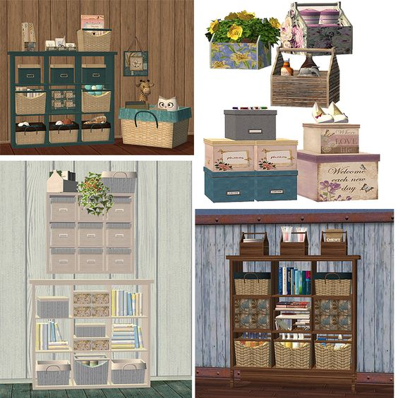 Sims 2 Meshes Kitchen Shelf (with placeable items) - Page 2 - not available yet...soon I hope!