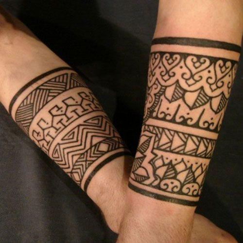 Tribal Wrist Tattoos For Guys Best Wrist Tattoos For Men Cool Wrist Tattoo Designs And Badass Ideas Cuff Tattoo Tribal Wrist Tattoos Tribal Tattoos For Men