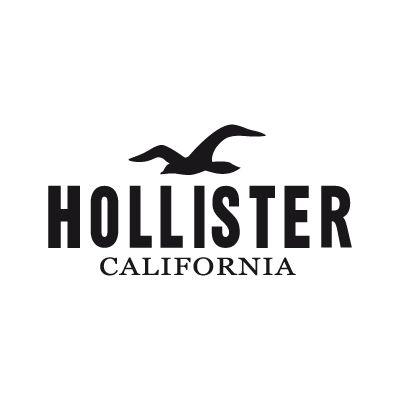 Hollister vector logo for Hollister design