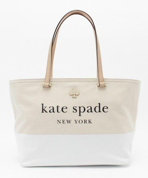 kate spade new york(ケイト・スペード ニューヨーク)のLOTT STREET FRANCIS(トートバッグ)|ホワイト