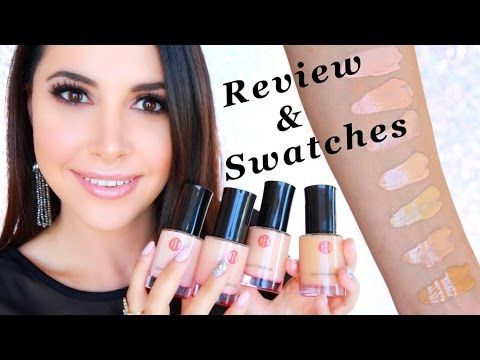 Koh Gen Do Aqua Foundation Review Swatches Of All Colors 012 002 013 113 213 123 143 Youtube Foundation Swatches All Things Beauty Youtube