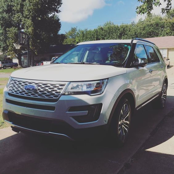 For the next two weeks we'll be driving around in luxury. #internationaltxtrip #fordtx #explorer