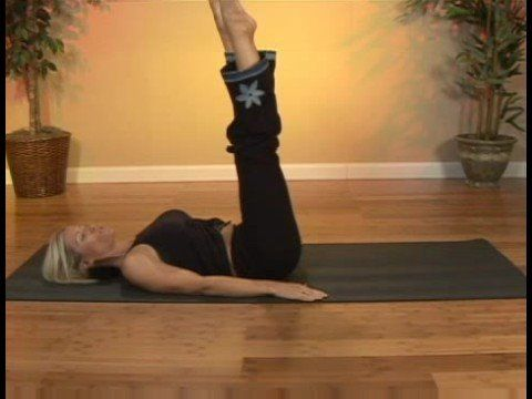 Pilates Exercises : Pilates: Heel Beats With Pointed Toes