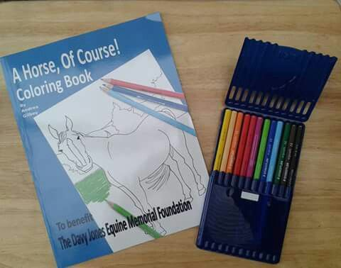 New release! The A Horse Of Course coloring book!