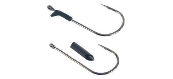 The Punch Hook has everything you look for in a flipping hook it's super strong and super sharp.   http://www.thehookuptackle.com/fishing-Hooks/Paycheck+Baits/Punch+Hooks